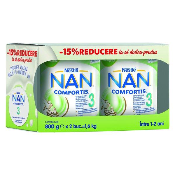Lapte Praf Nan 1 Comfortis
